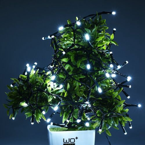 100 200 LED Solar Battery Powered Fairy String Lights Garden Party Deco XMAS OS