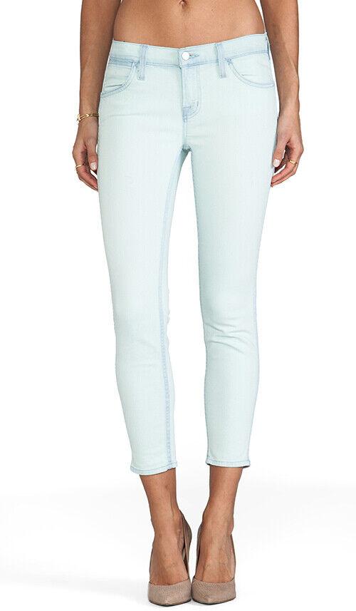 J Brand Womens Nirvana Sky 8221c032 Jeans Skinny Mint Size 25