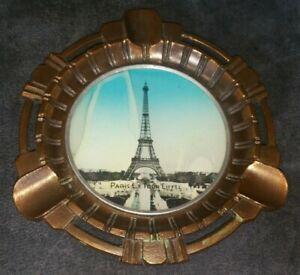 PARIS Souvenir Art Deco Ashtray Eiffel Tower Ashtray Souvenir de paris French Smoker