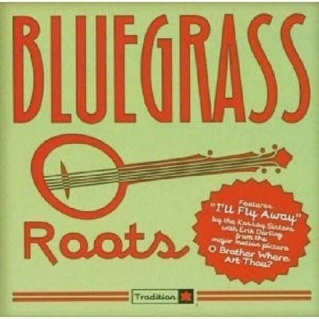 VARIOUS - BLUEGRASS ROOTS CD COUNTRY 16 TRACKS NEU