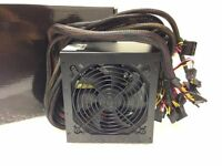 Quiet 850 Watt For Intel Amd Pc Atx Power Supply Sli Pci-e Sata 12cm Fan 850w