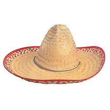 Lot 12 Salsa Spanish Mexican Fiesta Festive Sombrero Hat Costume Cinco de Mayo