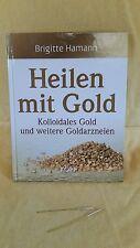 GOLDELEKTRODEN & Buch: Heilen mit Gold -  Hamann IONIC PULSER  Kolloidales Gold