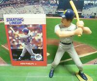 1988  KEN PHELPS - Starting Lineup - SLU - Loose With Card - Seattle Mariners