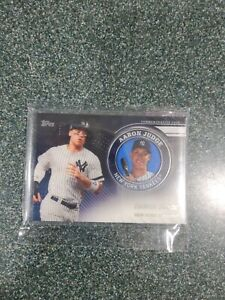 2020 Topps Series 2 AARON JUDGE Commemorative Medallion Player Coin - YANKEES -
