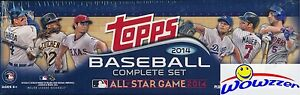 2014-Topps-Baseball-EXCLUSIVE-All-STAR-665-Card-Factory-Set-Special-Jeter-Trout