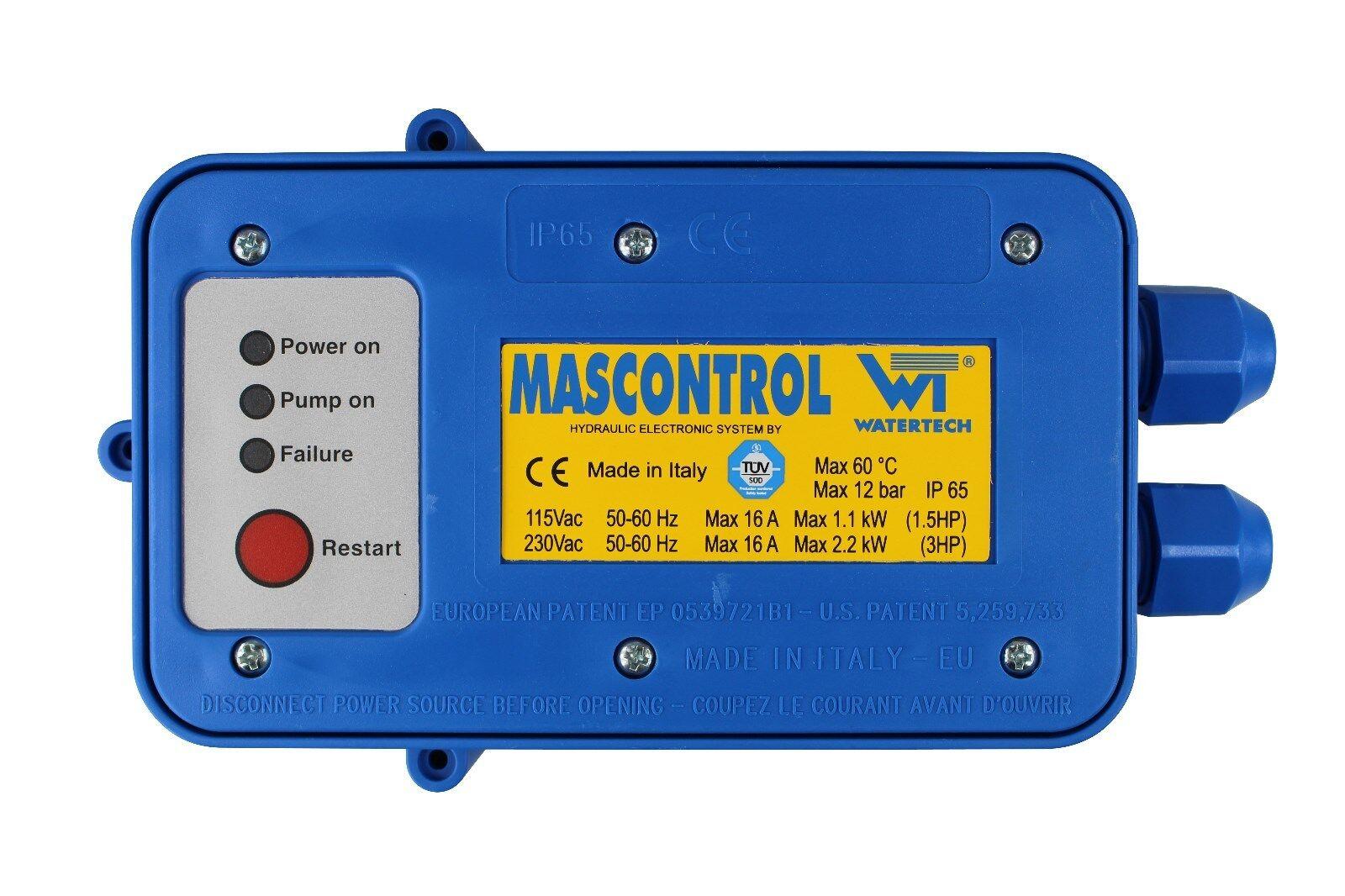 Pieza de repuesto electrónica-box para mascontrol bombas control interruptor de presión
