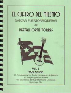 El-Cuatro-del-Milenio-Danzas-Puertorriquenas-Neftali-Ortiz-Tabs-Cuatro-y-Guita