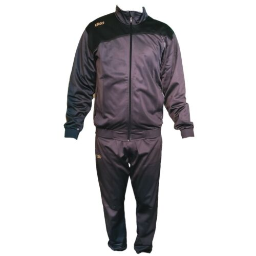 Details about  /DIDA Brown  Polyester Athletic Gym Running Sports Tracksuit for Men