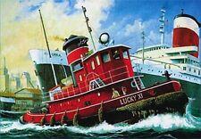 Revell Germany 1/108 Harbour Tug Boat Model Kit 05207 80-5207 RVL05207