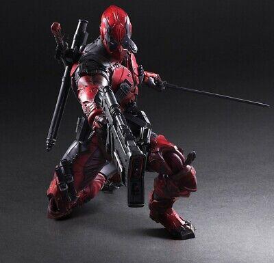 Play Arts Kai Deadpool Wade Wilson PA Marvel Variant 11'' Action Figure NIB 0998