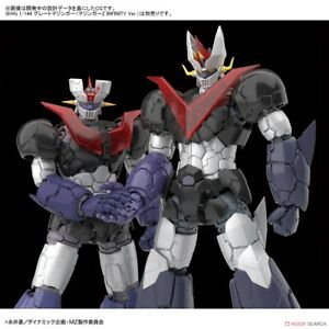 MAZINGER-INFINITY-THE-MOVIE-Great-Mazinger-amp-Mazinga-Z-HG-SET-2-Model-Kit-BANDAI