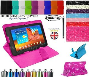 Universal-Flip-Case-Cover-Stand-Fits-Acer-iConia-ONE-730-7-034-Tablet-Free-Pen