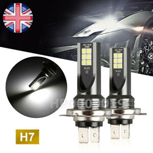 2x-H7-Car-LED-Fog-lights-200W-Headlight-Bulbs-Kit-6000k-HID-Decoder-Fog-Bulbs