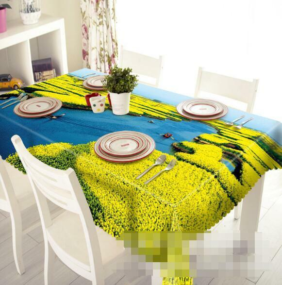 3D Flowers    River Tablecloth Table Cover Cloth Birthday Party Event AJ WALLPAPER 1e75a3