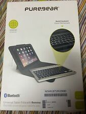 Apple iPad PureGear Universal Tablet Folio w// Removable Backlit Keyboard
