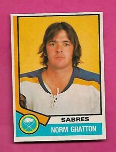 1974-75-OPC-288-SABRES-NORM-GRATTON-ROOKIE-NRMT-MT-CARD-INV-C3990
