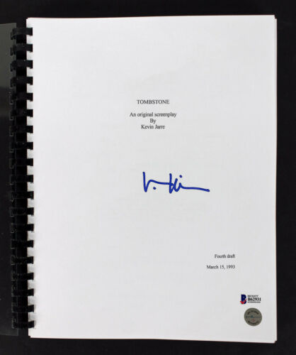 Val Kilmer Authentic Signed Tombstone Movie Script Autographed BAS