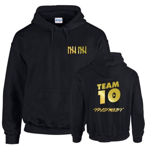 Kids Adults TEAM 10 Inspired Logan Jake Paul Logang Youtuber Hoodie Hoody Gift