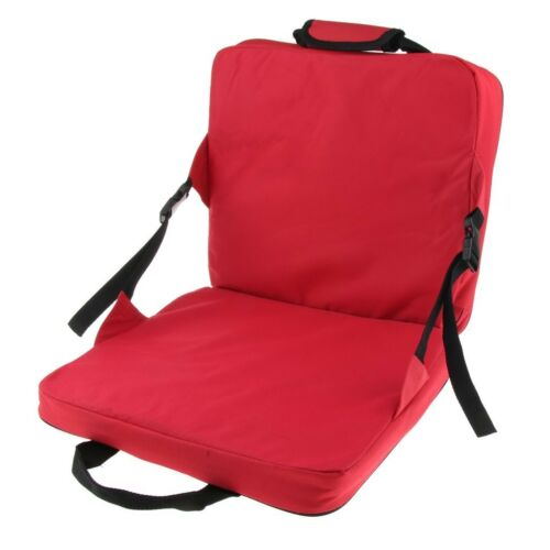 Comfortable Bench Chair Seat Cushion with Backrest for Garden Patio Camping