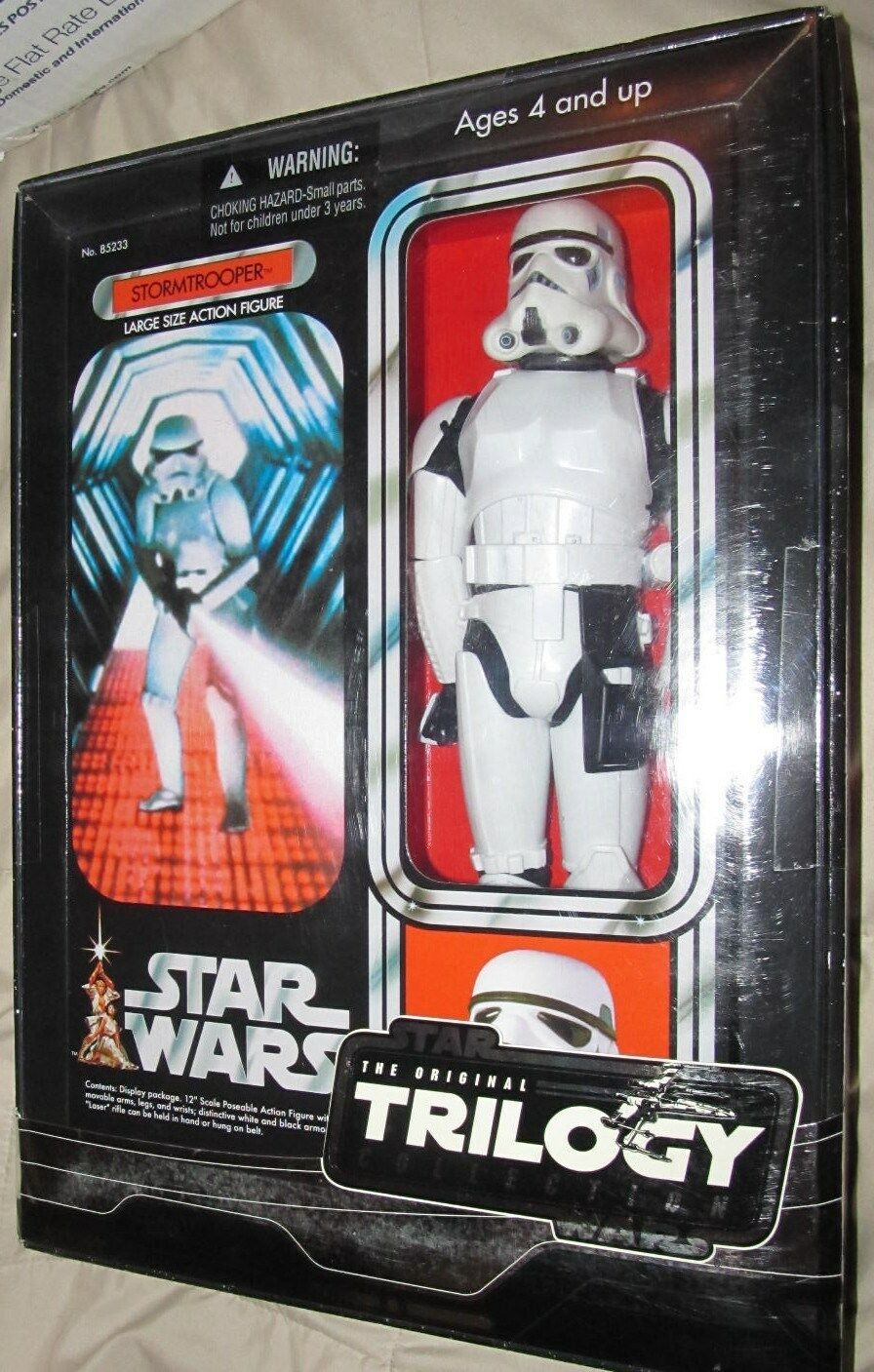 Star Wars 12  STORMTROOPER The Original Trilogy Collection  SEALED BOX 2004
