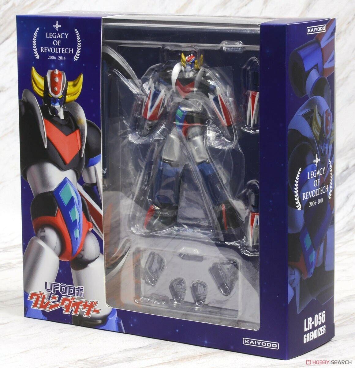 ororake Legacy Of Revoltech Grendizer Atlas Ovni Robot Kaiyodo Action Figure