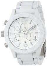 Nixon 42-20 White Dial SS Chronograph Quartz Male Watch A037-1255