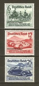 DR-Nazi-Reich-Rare-WW2-Stamp-Overprint-Nurburgring-Race-Automobile-Exhibition-039-39