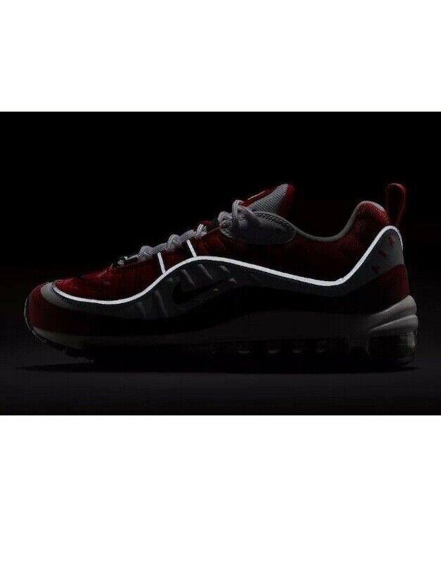Nike Nike Nike Air Max 98 OG Gym Red White 2018 w Receipt AH6799-101 Size 5-12 3a976c