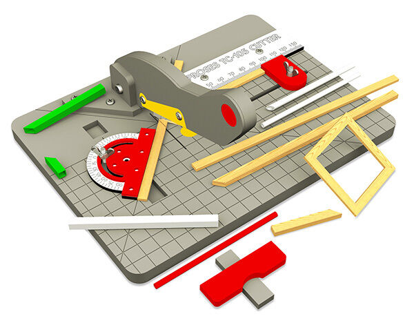 Ppinks PTC-105 Timber, Plastics and Rod Cutter for Model Makers