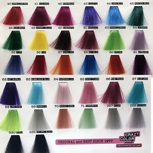 CRAZY-COLOR-DYE-SEMI-PERMANENT-IN-CREAM-COLORATION-HAIR-100-ML-BY-RENBOW