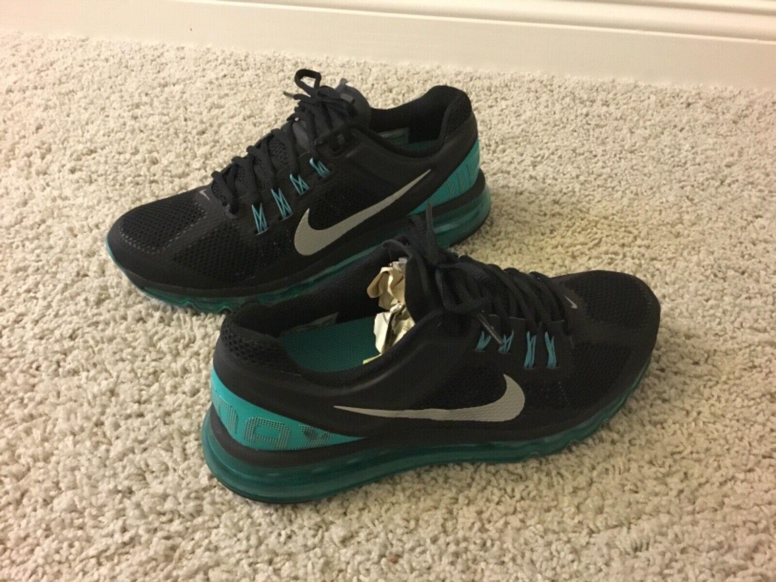 Men's Men's Men's Nike Air Max +2013 Athletic shoes Size 9.5M Multi-color f989a7