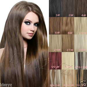 80g 100g 120g 140g clip in remy human hair extensions full head image is loading 80g 100g 120g 140g clip in remy human pmusecretfo Images