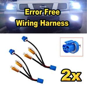 2x-9004-HB1-9007-HB5-HID-Kit-Error-Free-Load-Resistors-Wiring-Harness-Adapters