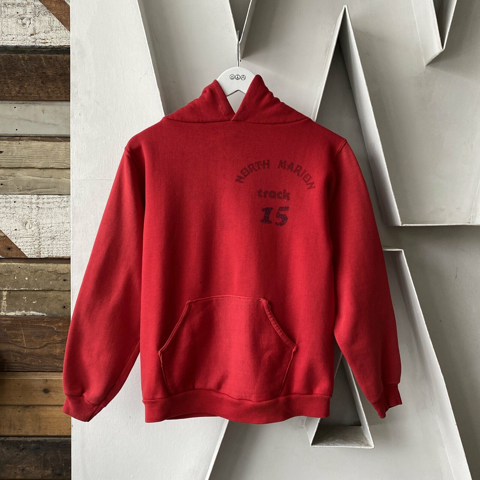 Vintage 70s Russell Hoodie - Small north marion t… - image 1