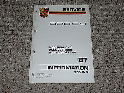 [SCHEMATICS_48EU]  1987 Porsche 928S4 928 S4 Wiring Diagrams Data Settings Service Repair  Manual | eBay | Wiring Diagram Porsche 928 |  | eBay