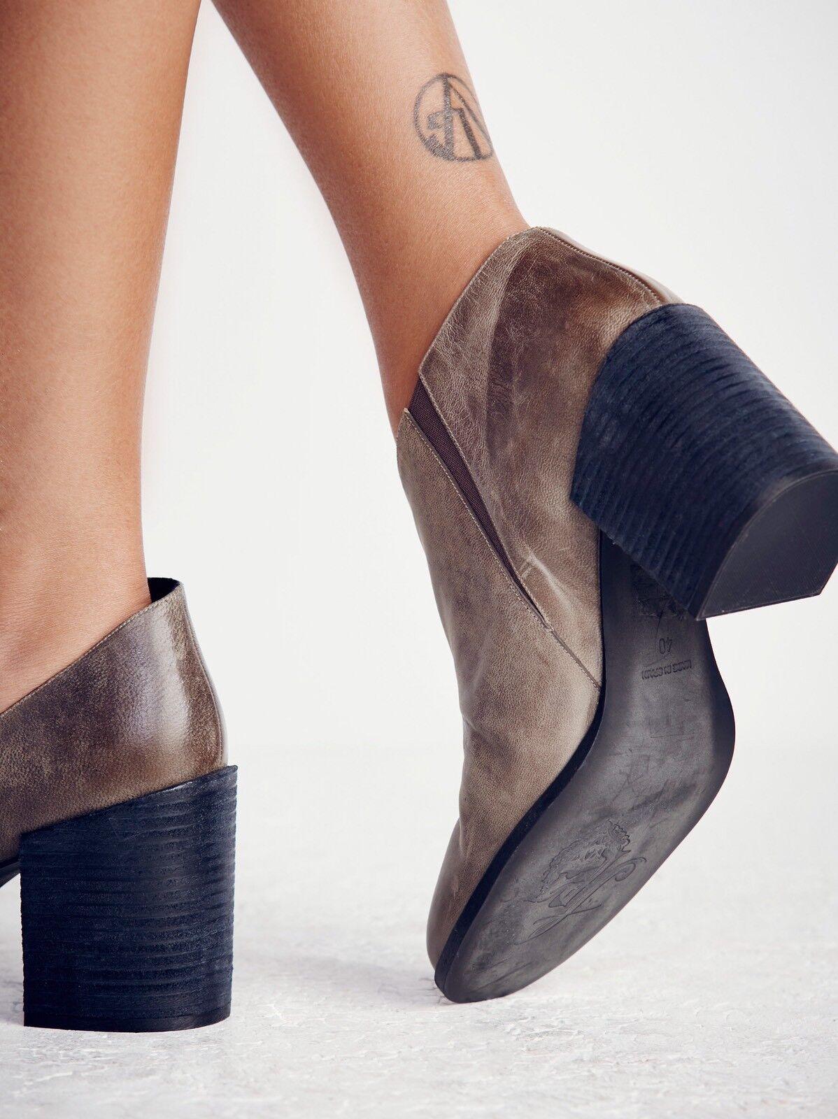 Free 7 People Terrah Heel Boot Größe 7 Free Leder New MSRP: 198 9b9393
