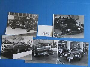 N°11549 / Salon De Geneve 1972 : 14 Photos D'epoque De Journaliste