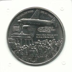 Medaille Jeton Monnaie de Paris MDP World Money Fair Berlin Berlijn 2018