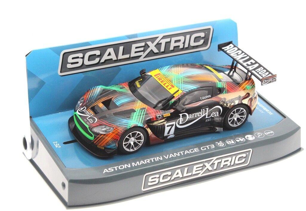 Scalextric 3856 Aston Martin GT3  7 2013 Clipsal HD  | Neuankömmling