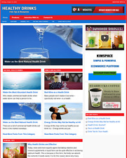 Healthy Drinks Website Business For Sale Work From Home Business Opportunity