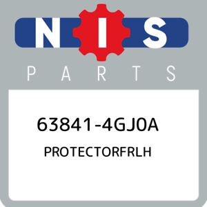 63841-4GJ0A-Nissan-Protectorfrlh-638414GJ0A-New-Genuine-OEM-Part