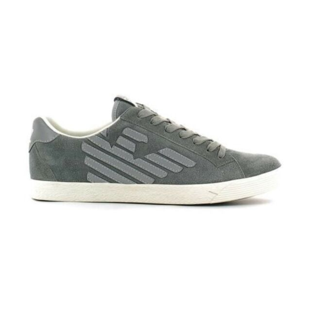 Scarpe Uomo Ea7 EMPORIO Armani Sneaker Grigio Art. 278038 Cc299 40 ... c868dfbe502