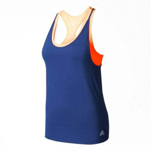 Adidas Womens Advantage Strappy Tennis Tank Top RRP 40! XXS L