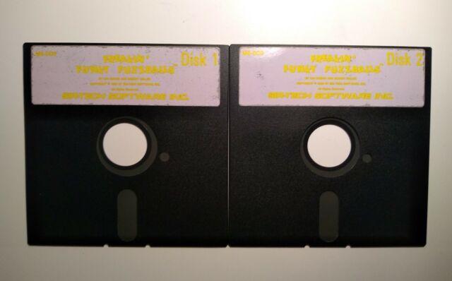 "Freakin' Funky Fuzzballs (PC, 1990) IBM PC 5.25"" DISKETTES NEAR MINT TESTED"