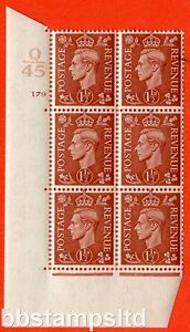 SG. 487. Q8. 1½d Pale Red-Brown. A superb UNMOUNTED MINT. Control Q45.