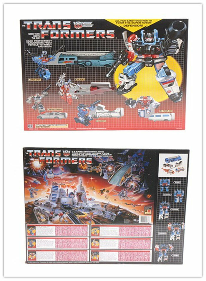 G1 transformers protectobots defensor autobot - neuauflage geschenk kinder spielzeug - aktion scharf