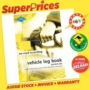 ZIONS◉PVLB VEHICLE LOG BOOK◉POCKET SIZE◉64 PAGES◉ATO COMPLIANT◉CAR TRUCK◉ACCOUNT 9313397027729