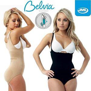 17eeb823a3 Image is loading JML-Belvia-Body-Suit-Shaper-Bodysuit-Shapewear-Ladies-