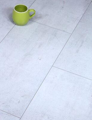 Sample Kronotex Mega Arctic Grey Laminate Floor Tile V-Groove AC4 Hard Wearing